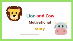 tiger and cow story in hindi