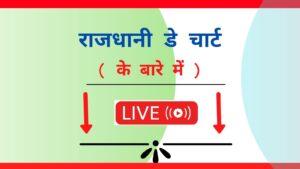 Rajdhani Day Jodi Chart- Rajdhani Day Chart