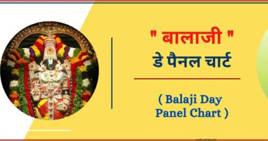 Balaji Day Panel Chart