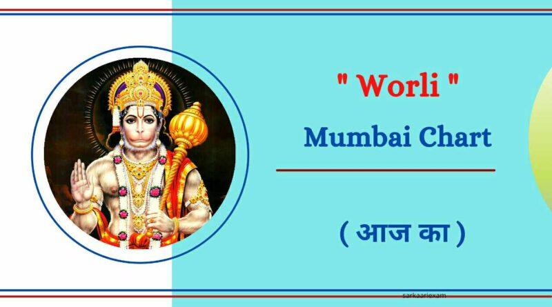 Worli Mumbai Chart