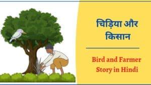 चिड़िया और किसान की कहानी